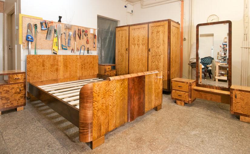 Funkstiilis magamistuba